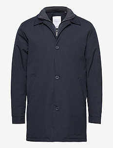 Arctic Canvas jacket with buttons - - trenchcoats - total eclipse