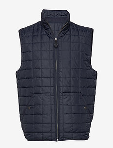 FJORD reversible quilted vest - GRS - liivit - total eclipse