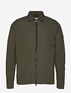 Nylon overshirt - GRS/Vegan - kevyet takit - forrest night