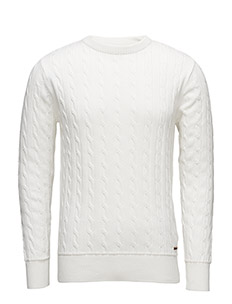 Cable Knit - GOTS - STAR WHITE