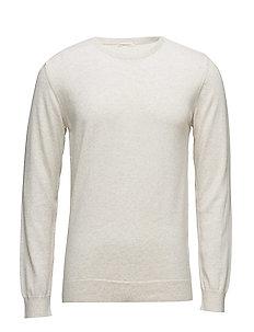 Basic O-Neck Cotton/Cashmere - GOTS - STAR WHITE