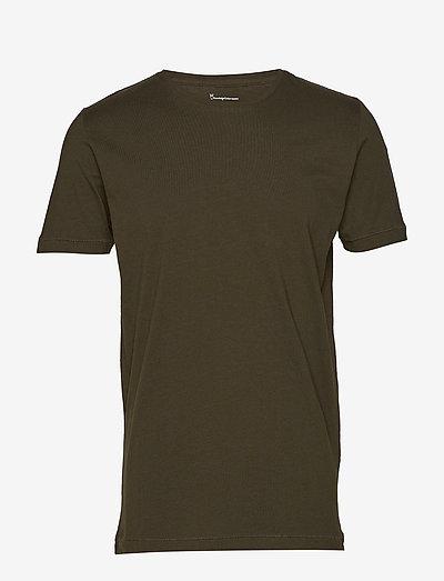 ALDER basic tee - GOTS/Vegan - basic t-shirts - forrest night