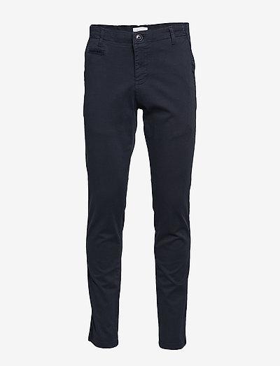 JOE slim stretched chino pant - GOT - pantalons chino - total eclipse