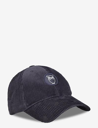 8 Wales Corduroy cap - GOTS/Vegan - bonnets & casquettes - total eclipse
