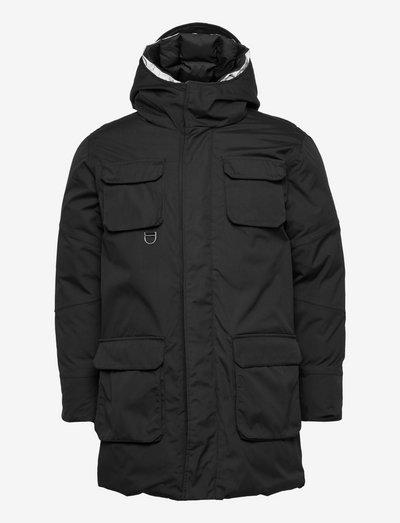 ARCTIC CANVAS parka jacket - GRS/V - parkas - black jet