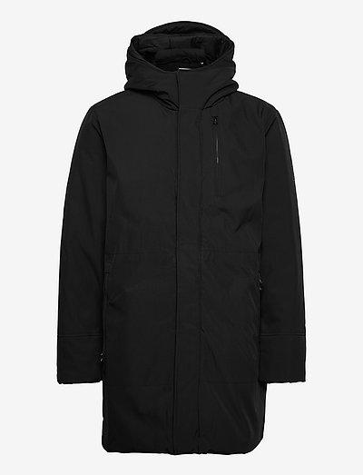 CLIMATE SHELL jacket - GRS/Vegan - parkas - black jet