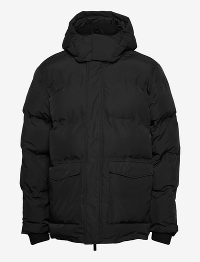 FJORD Puffer jacket - GRS/Vegan - vestes matelassées - black jet