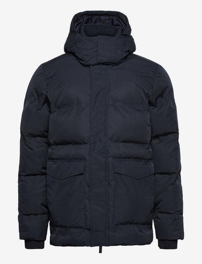 FJORD Puffer jacket - GRS/Vegan - vestes matelassées - total eclipse
