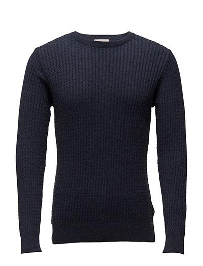 Cotton/Cashmere Cable Knit - GOTS - TOTAL ECLIPSE