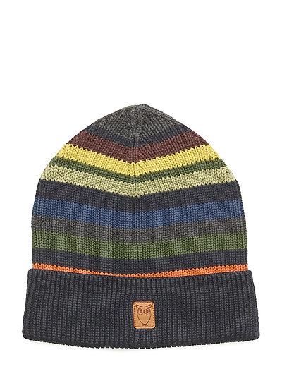 Striped hat - GOTS - TOTAL ECLIPSE
