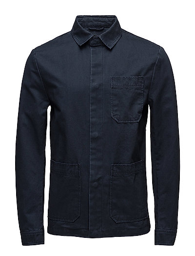 Twill shirt jacket - TOTAL ECLIPSE