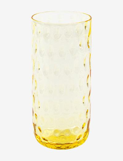 DANISH SUMMER LONGDRINK - juomalasit - yellow
