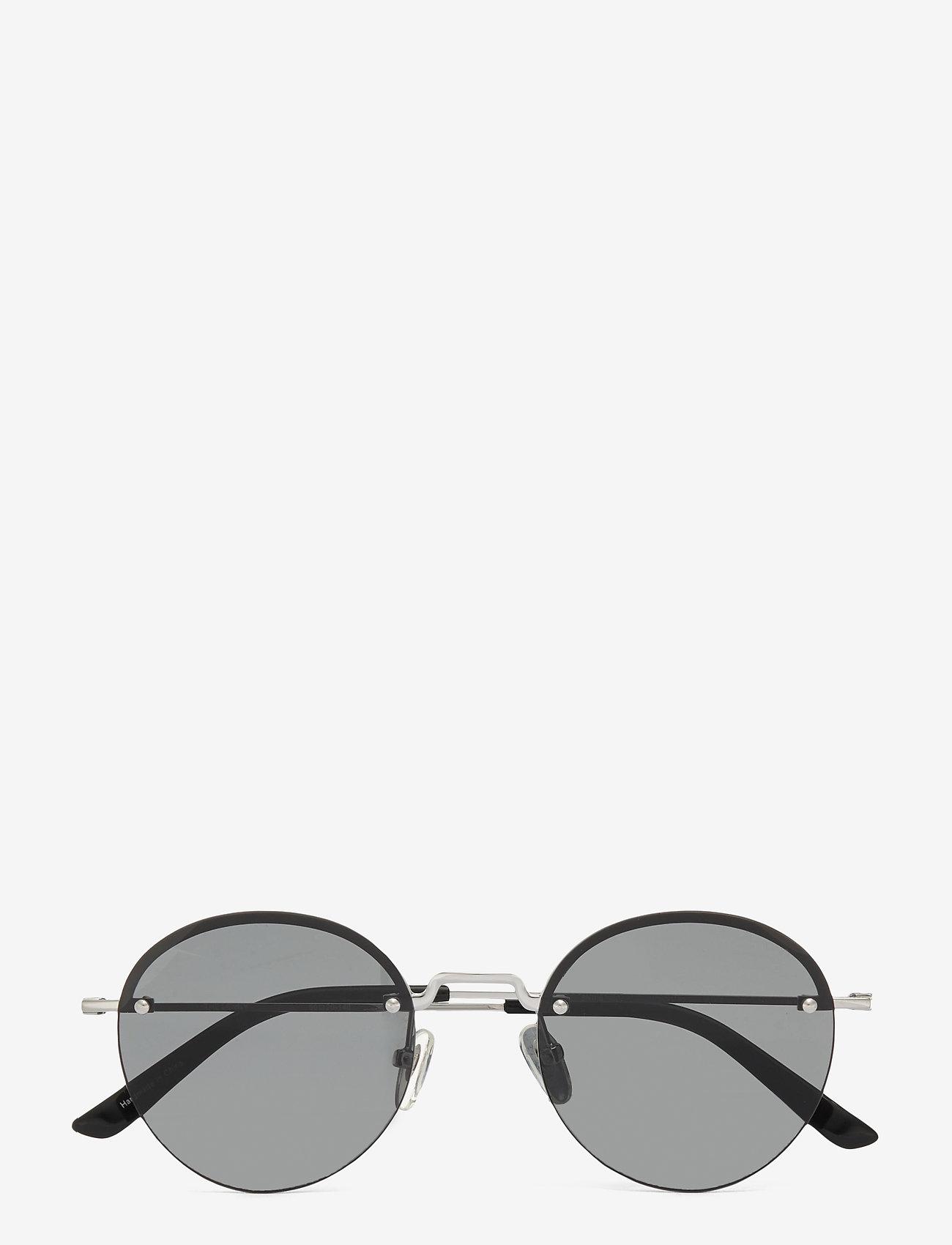 Komono - Lenny - ronde zonnebril - silver smoke - 0