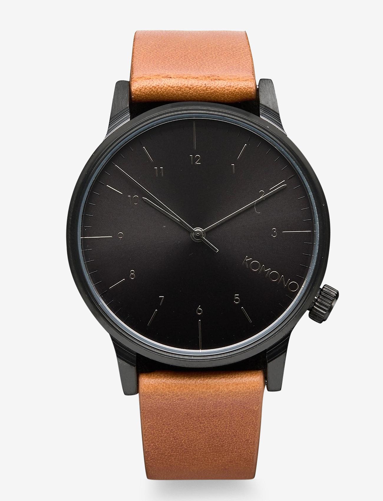 Komono - Winston Regal - watches - cognac - 0
