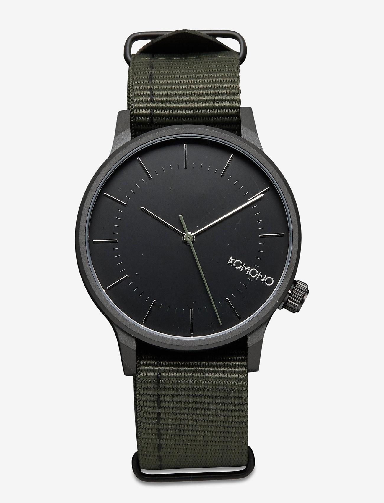 Komono - Winston Regal - watches - nato green - 0