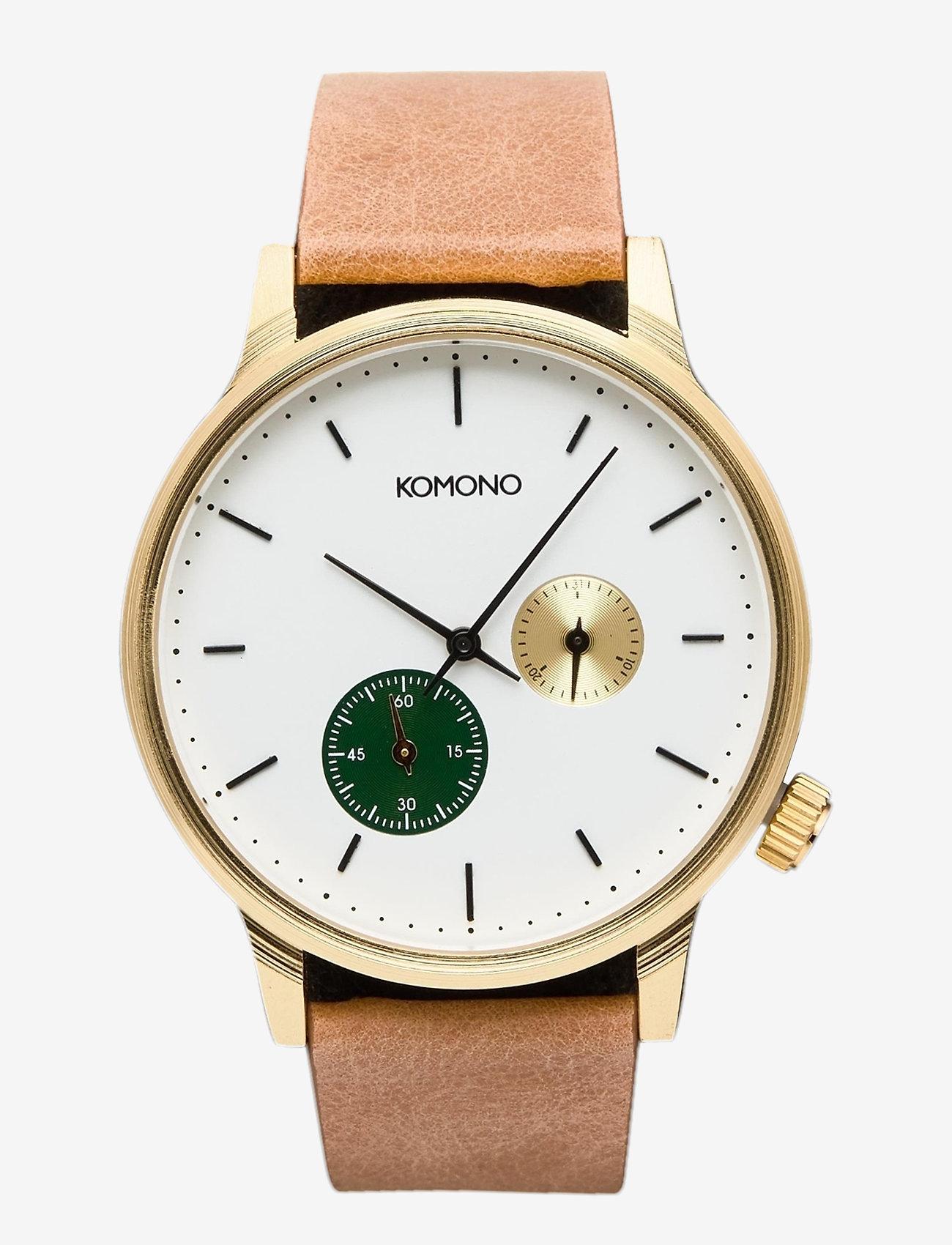 Komono - Winston Double Subs - watches - green - 0