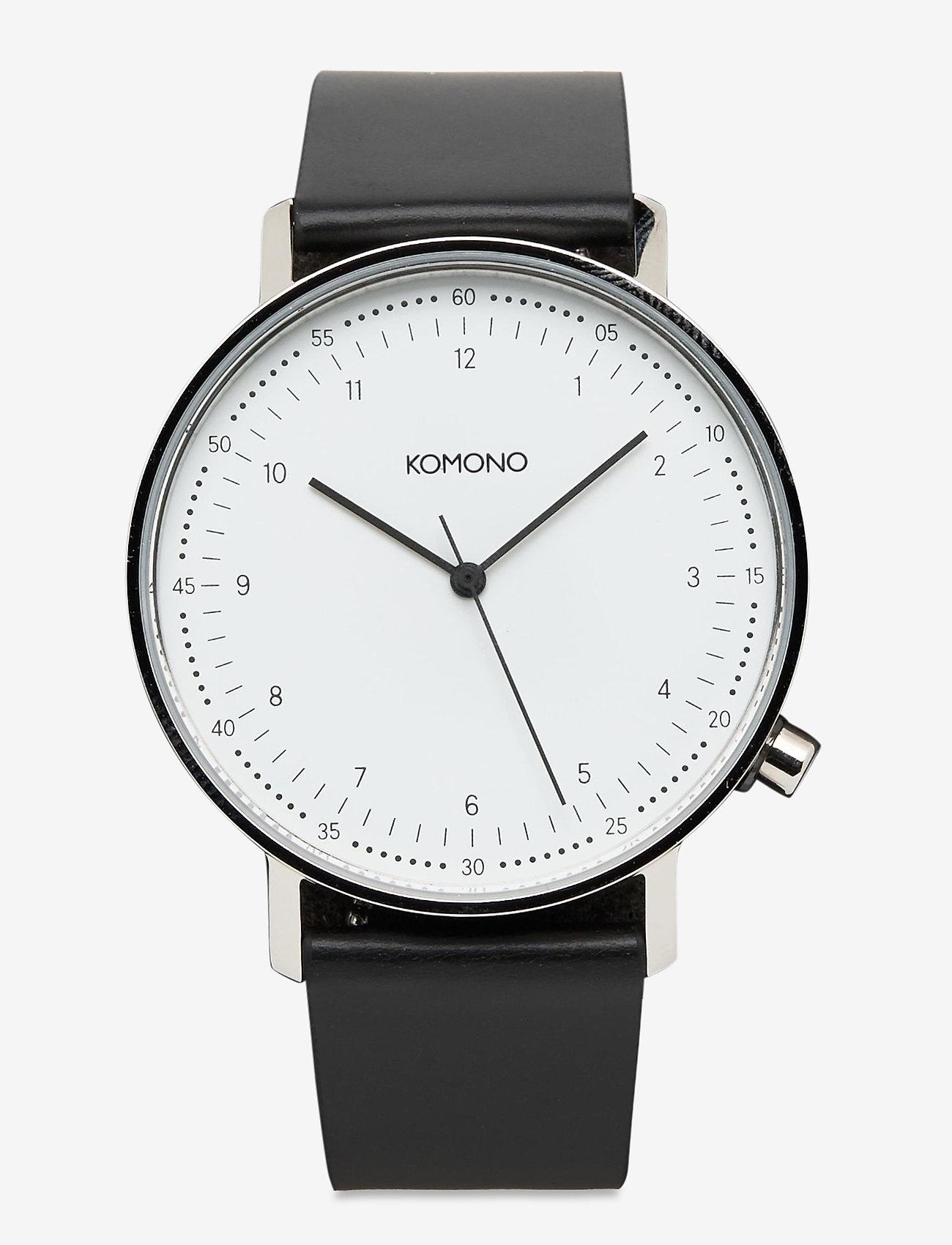 Komono - Lewis - watches - black - 0