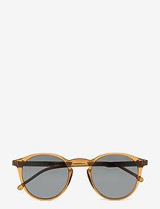 Aston Grand - ronde zonnebril - sand