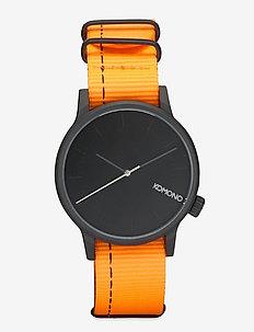 Winston Nato - horloges - neon orange