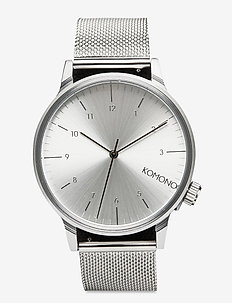 Winston Royale - watches - silver