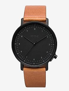 Lewis - watches - cognac