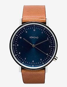 Lewis - horloges - blue cognac