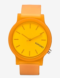 Mono - horloges - neon orange glow