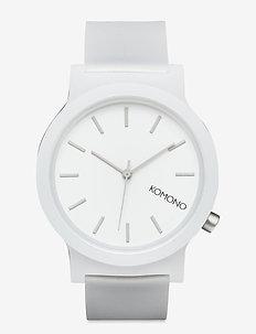 Mono - horloges - white glow