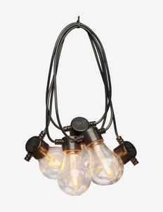 Lightset 10 bulb replace. LED - Éclairage extérieur - black