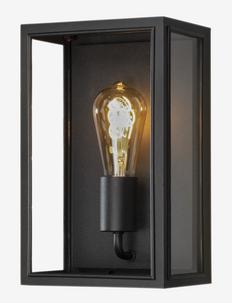 Carpi wall E27 - Éclairage extérieur - black