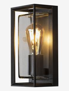 Brindisi wall E27 - Éclairage extérieur - black