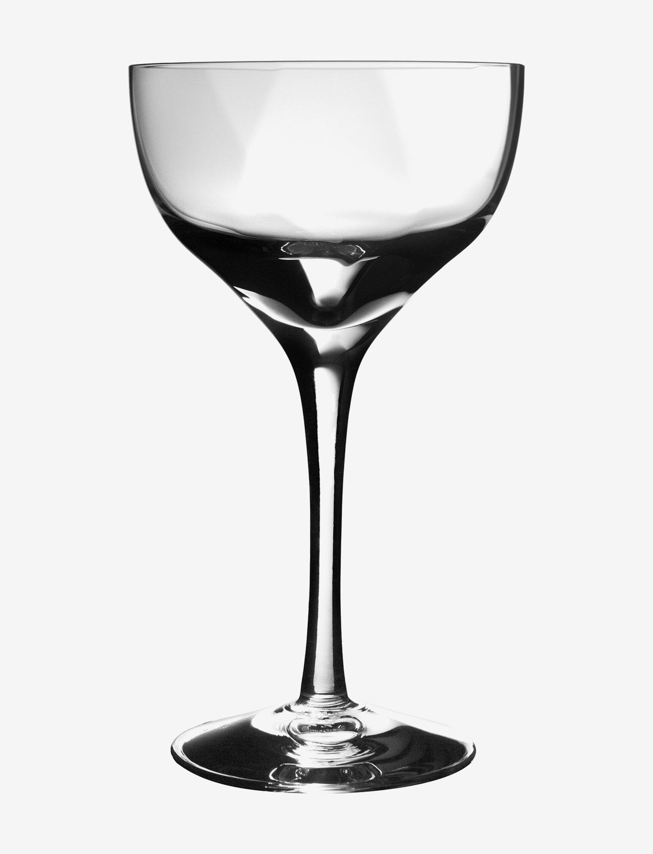 Kosta Boda - CHATEAU LIQ.BOWL 8 CL ( 5 CL) - martiniglass & cocktailglass - clear - 0