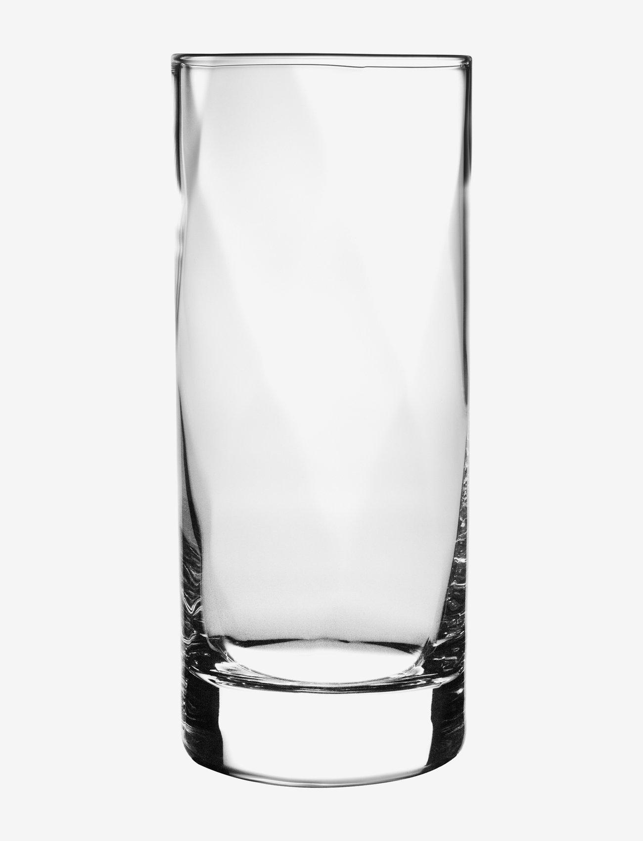 Kosta Boda - CHATEAU TUMBLER 38 CL - vannglass - clear - 0