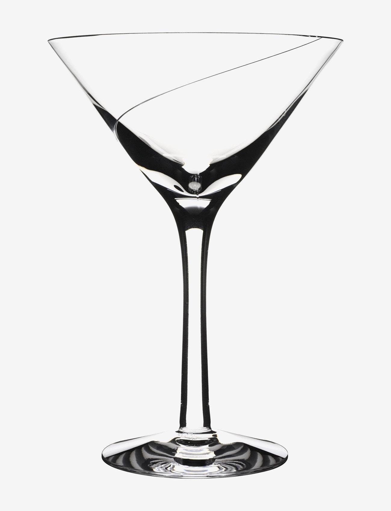 Kosta Boda - LINE MARTINI 23 CL (15CL) - martiniglass & cocktailglass - clear - 0