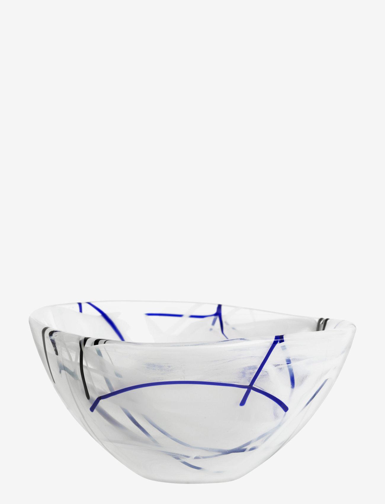Kosta Boda - CONTRAST WHITE BOWL D 160MM - osta hinnan perusteella - white - 0