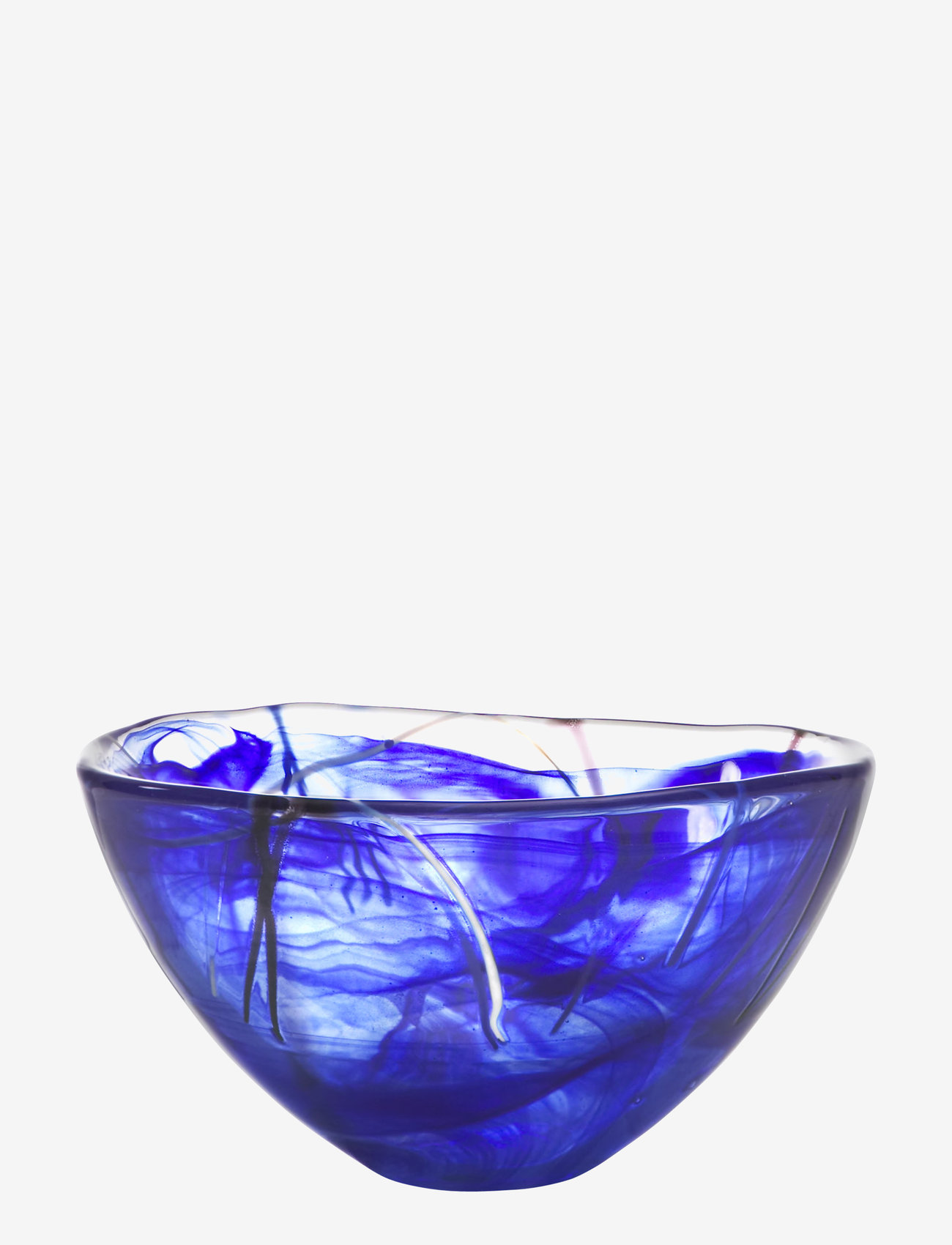 Kosta Boda - CONTRAST BLUE BOWL D 160MM - 100–200€ - blue - 0