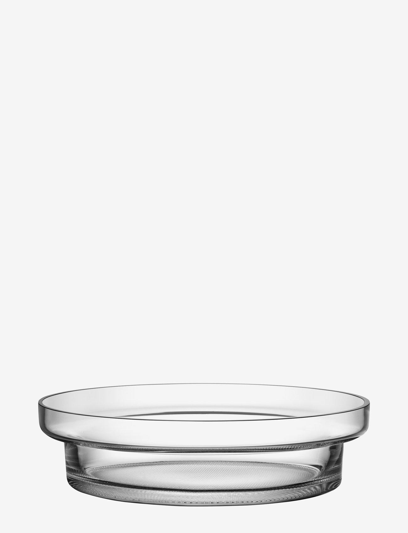 Kosta Boda - LIMELIGHT DISH CLEAR D 330MM - tarjoiluastiat ja -lautaset - clear - 0