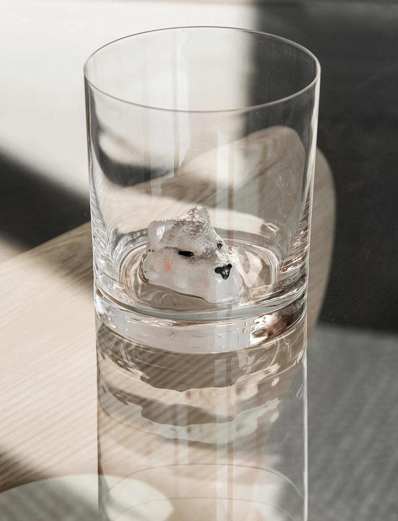 Kosta Boda - NEW FRIENDS TUMBLER ARTIC FOX 46 CL (40CL) - whiskyglass & cognacglass - clear - 1
