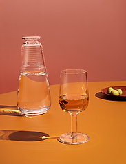 Kosta Boda - VIVA CARAFE WITH SMALL GLASS - viinikarahvit - clear - 1