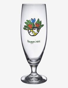 FRIENDSHIP BEER  HAPPINESS 50 CL - Ølglass - clear