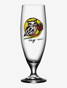 FRIENDSHIP BEER  STAY WISE 50CL - Ølglass - clear