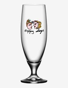 FRIENDSHIP BEER HAPPY DAYS 50CL - Ølglass - clear