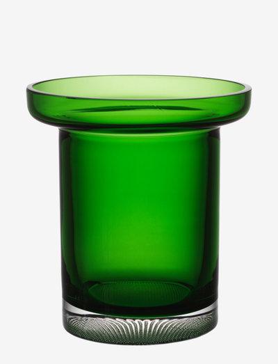 LIMELIGHT TULIP VASE APPLE GREEN  H 195MM - shop etter pris - green