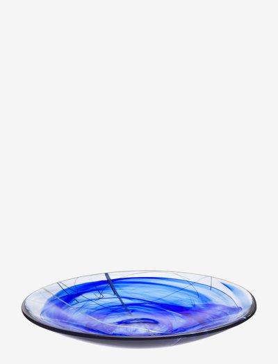CONTRAST BLUE DISH D 380MM - tarjoiluastiat ja -lautaset - blue