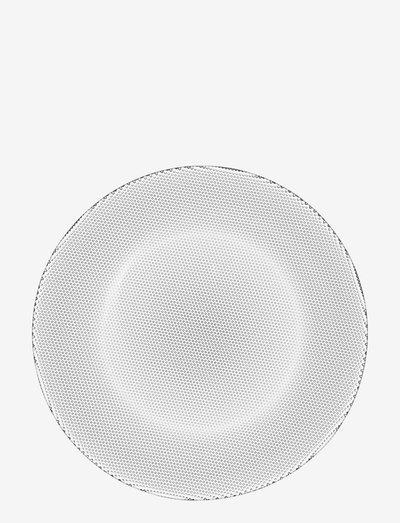 LIMELIGHT PLATE 1-PACK - middagstallerkener - clear