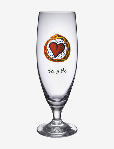 FRIENDSHIP BEER  YOU AND ME 50CL - Ølglass - clear