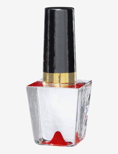 MAKE UP RED NAIL POLISH H 190MM - skulpturer & porselensfigurer - red