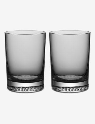 LIMELIGHT TUMBLER GREY 2-PACK 22CL - vannglass - grey