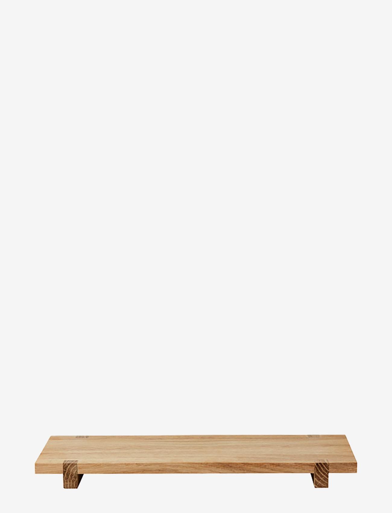 Kristina Dam Studio - Japanese Wood Board - Small - tapasbrett og sett - oak - 0