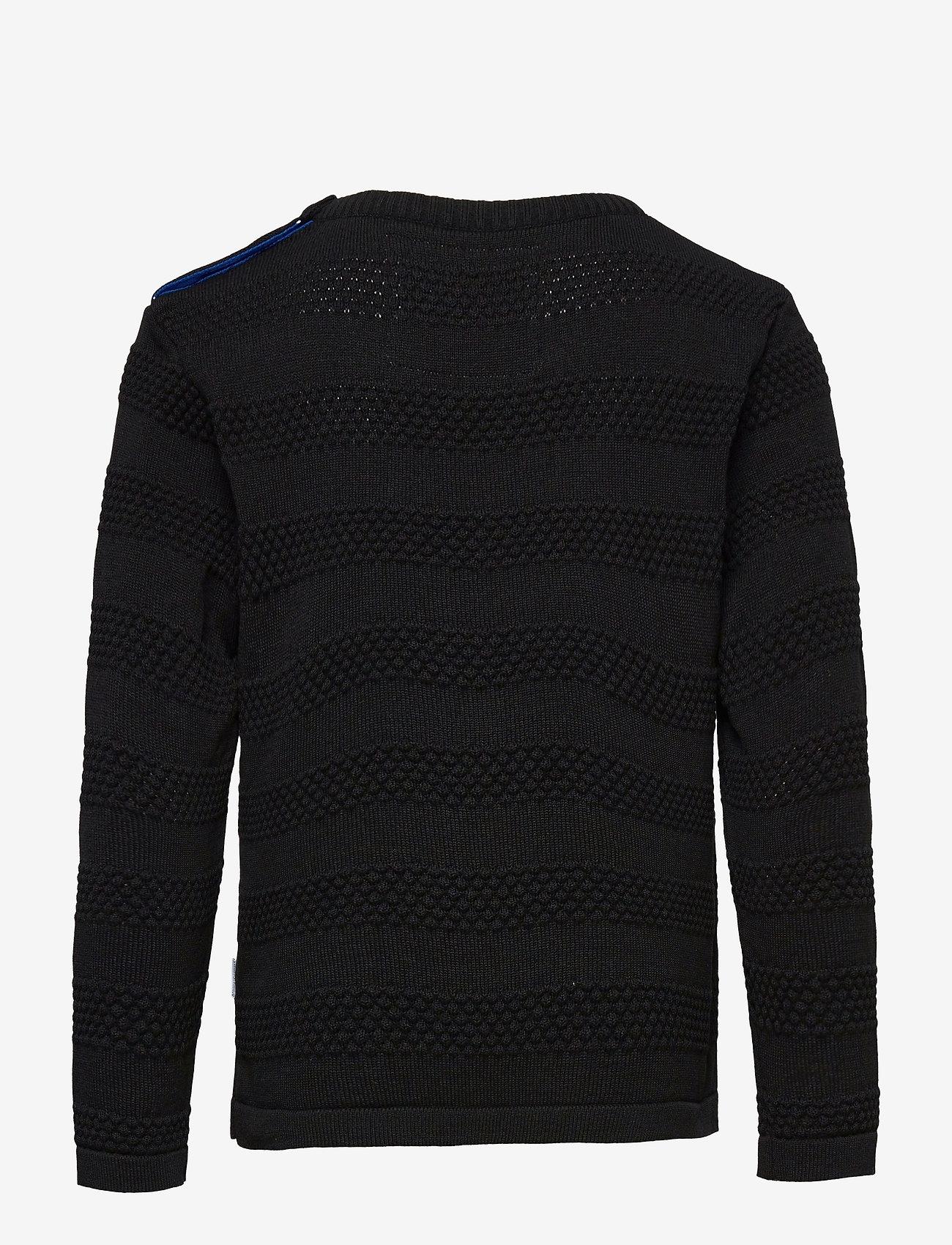 Kronstadt - Keld Plain - jumpers - black/cobalt - 1